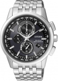 Citizen AT8110-61E Eco-Drive World Time Radio Controlled Chronograph