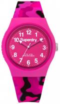 SUPERDRY Urban Pink Rubber Strap SYL176PB