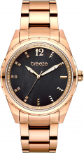 BREEZE Estelle Crystals Rose Gold Stainless Steel Bracelet 210921.6