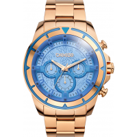BREEZE WildCard Rose Gold Stainless Steel Chronograph 210461.7