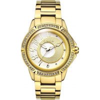 BREEZE Midnight Swing Crystals Gold Stainless Steel Bracelet 210561.2