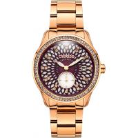 BREEZE Camellia Crystals Rose Gold Stainless Steel Bracelet 210831.9