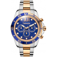 BREEZE Starborn Two Tone Stainless Steel Chronograph 710591.3