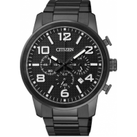 Citizen AN8056-54E Black Chronograph