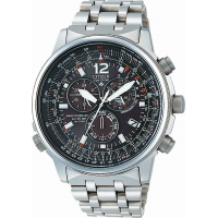 Citizen AS4020-52E Eco-Drive World Time Radio Controlled Chronograph