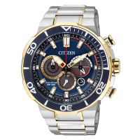 Citizen CA4254-53L Eco-Drive Sports Diver Chronograph Two Tone Gold