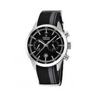 FESTINA F16827/3, Black Fabric Chronograph