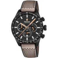 FESTINA F20359/1, Chronograph Leather