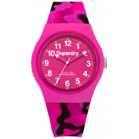 SUPERDRY Urban Pink Rubber Strap SYL176PB