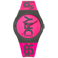 SUPERDRY Urban Fuchsia Rubber Strap SYL189PP