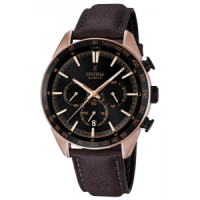 FESTINA F16846/1, Chronograph Rose Gold