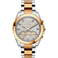 BREEZE 710991.4 Majestyle Crystals Chronograph