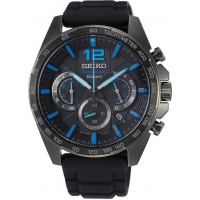 SEIKO SSB353P1 Total Black Chronograph