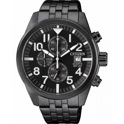 Citizen AN3625-58E Black Chronograph