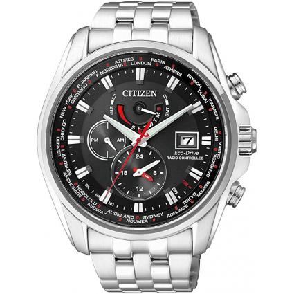 Citizen AT9030-55E Eco-Drive World Time Radio Controlled Chronograph